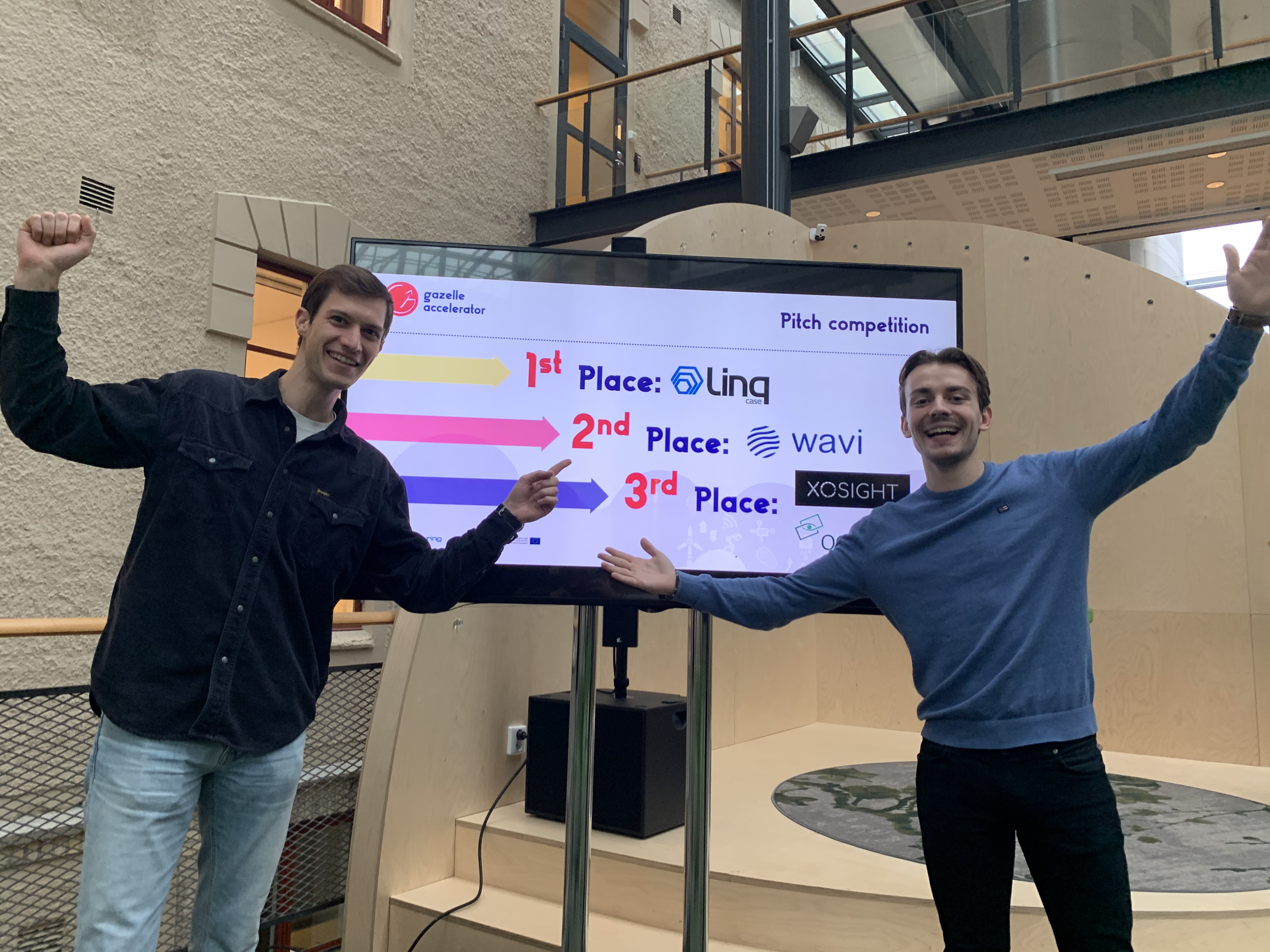 Wavi takes 2nd place in Gazelle Accelerator Road Show!